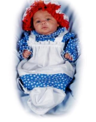 Raggedy Ann Newborn Costume