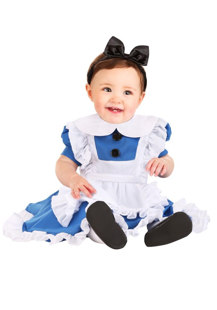 Wonderland Alice Costume for Infants