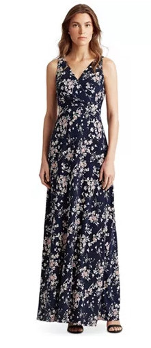 Women's Floral Jersey Dress by Lauren Ralph Lauren