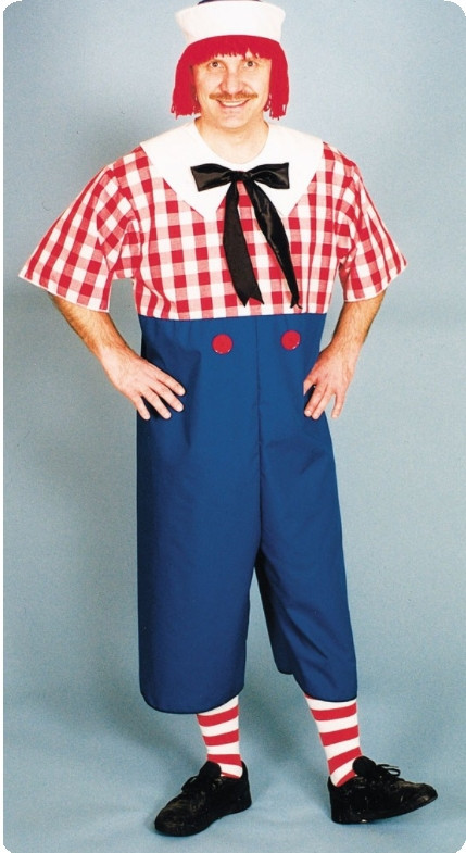 Raggedy Ann Adult Costume for Him