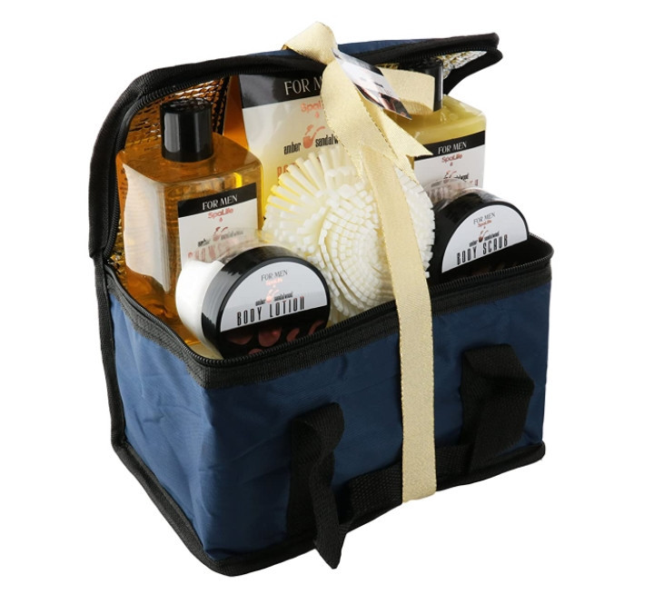 Spa Life All Natural Bath and Body Luxury Spa Gift Set Basket