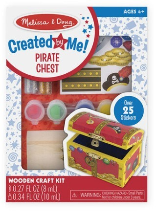 Wooden Pirate Chest Craft Kit