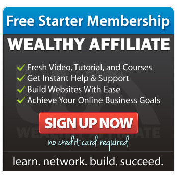 Wealthy Affiliate Free Starter Membership Ad