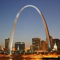 Arch in St Louis Missouri