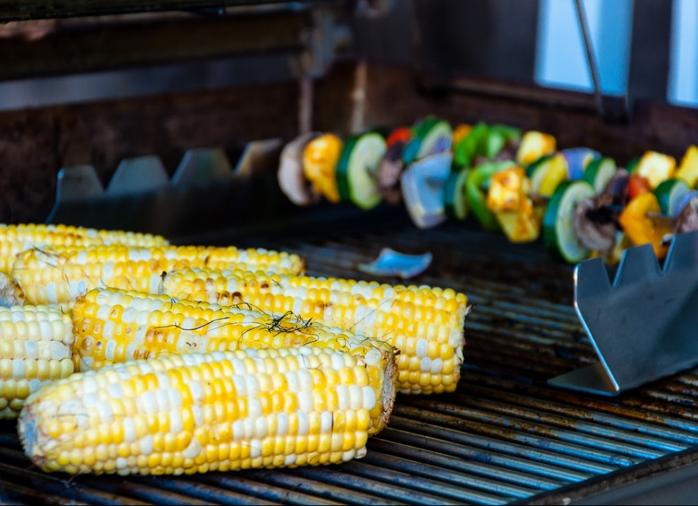 Roasting Corn on the Grill