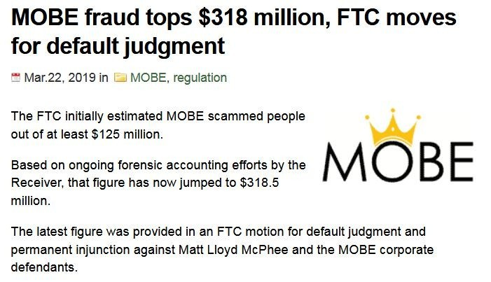 MOBE Case: Fraud Tops $318 Million