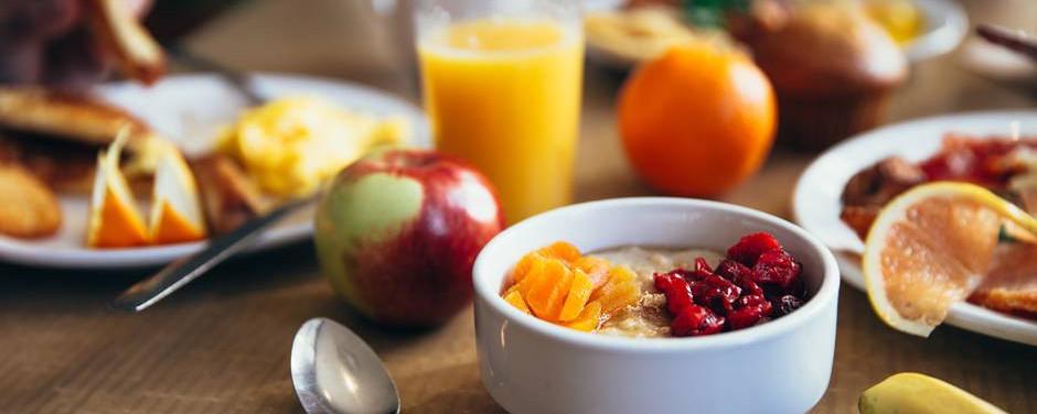 Great breakfast.