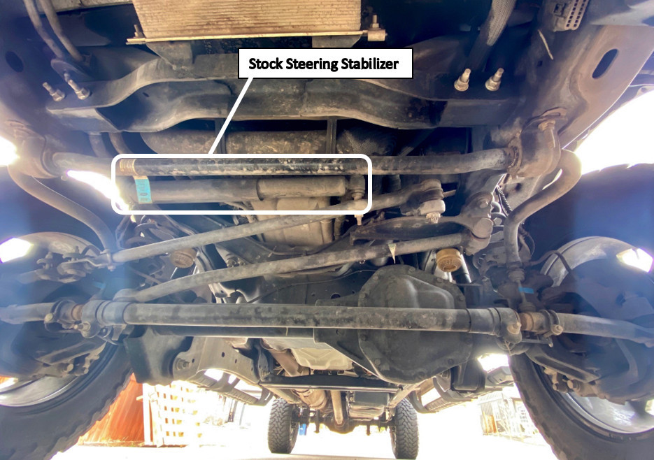 stock steering stabilizer F-250