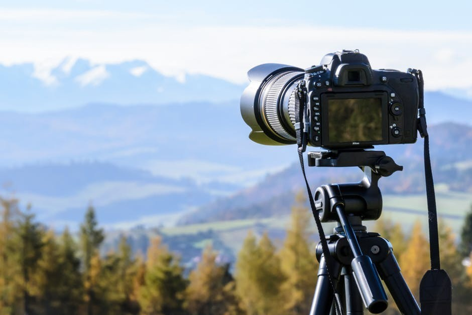 taking professional pictures for your blog