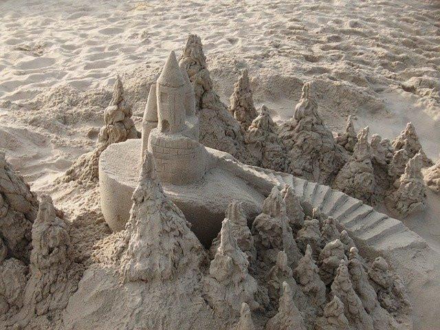 Kids Summer Activities - sand castle
