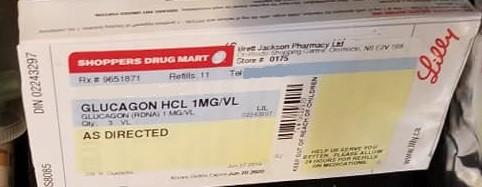 What Is Type 1 Diabetes treatment? - Glucagon emergency kit