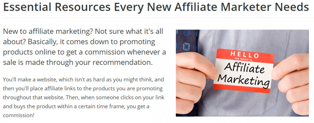 What Is Affilorama About - My Review - essential resources
