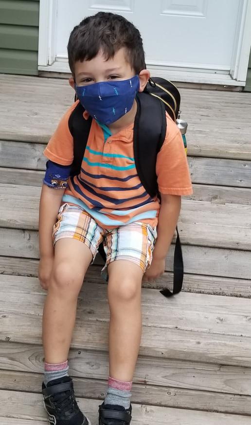 Back to School in Canada - Alex
