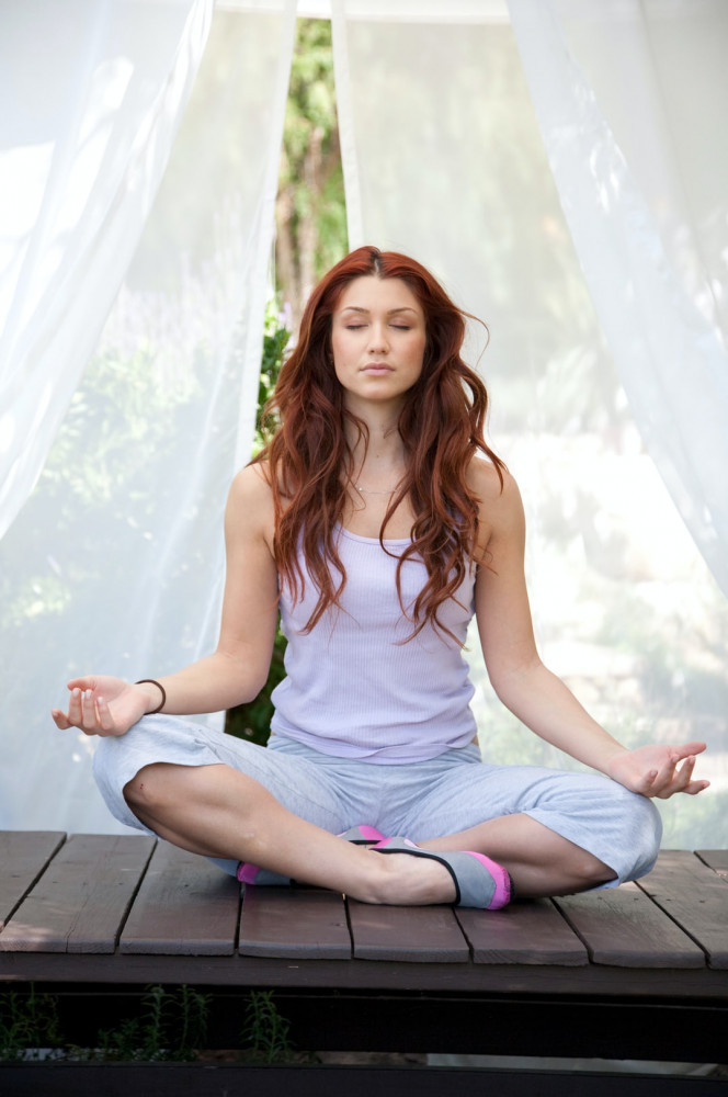 What is Meditation and How It Works - woman meditating