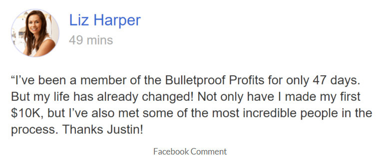 What Is Bulletproof Profits About - The Truth - Liz Harper