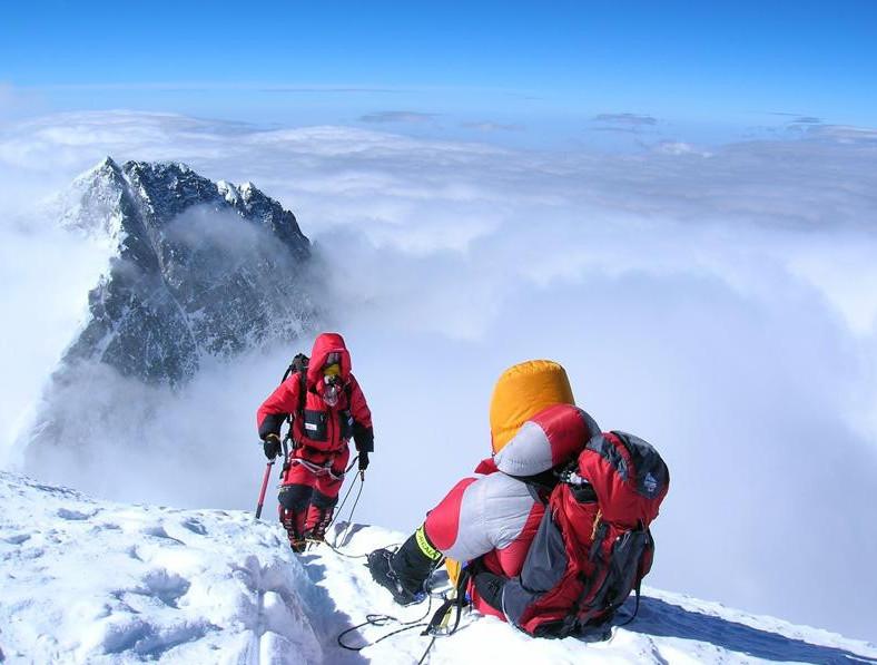 Type 1 Diabetes and Athletes - mountain climbers