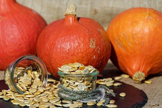 Halloween and Diabetes - roasted pumpkin seeds