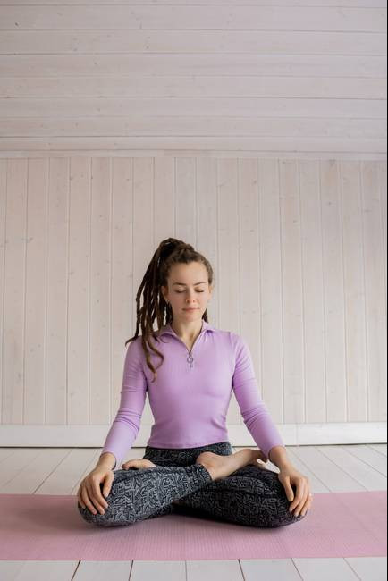 What Is The Power Of Thought - meditating