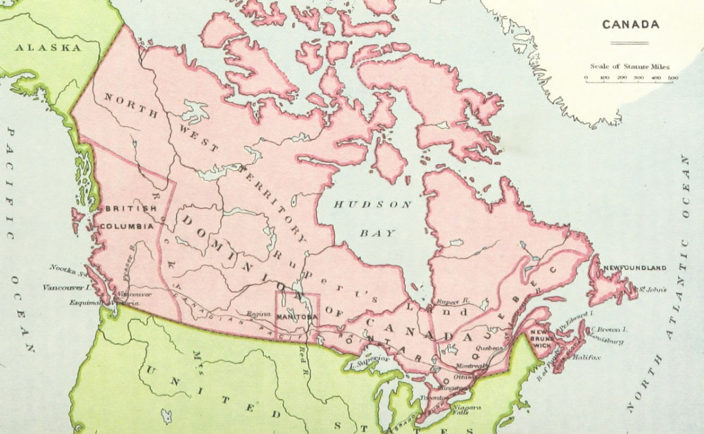 Vegetable Gardening In Canada - map of Canada