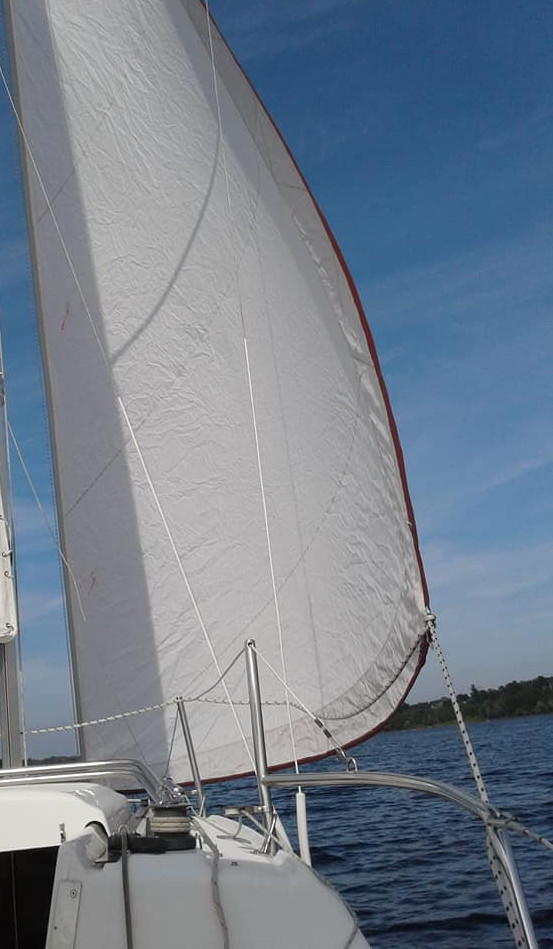 What To Do On Staycation - sailing on the lake