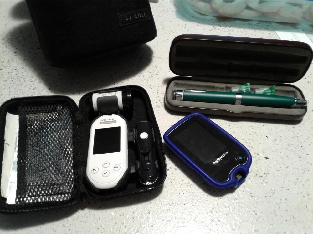 Kids Summer Activities - diabetic supplies