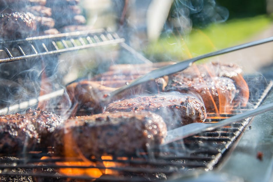 Canada Day with COVID - BBQ hamburgers