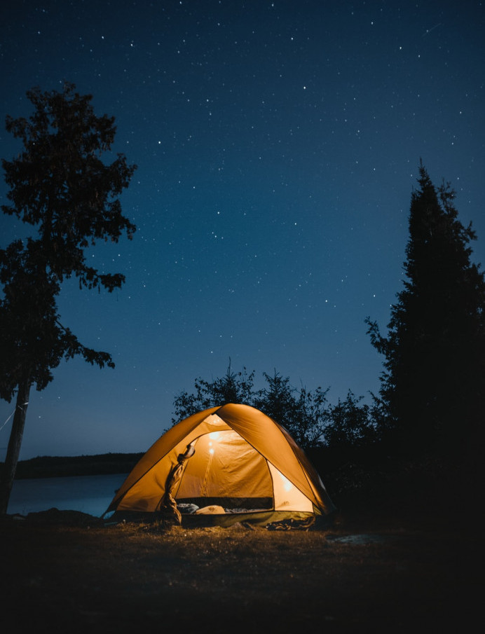 What To Do On Staycation - camping