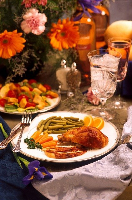 Thanksgiving and Diabetes - dinner