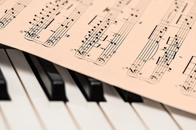 What Is The Power Of Thought - music sheet and keyboard