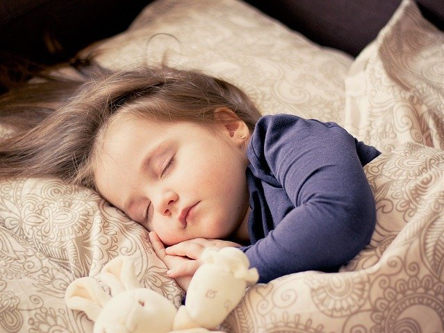 Why Good Mental Health Is Important - child peacefully sleeping