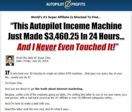 Is Autopilot Profits A Scam - Autopilot Profits Income Machine