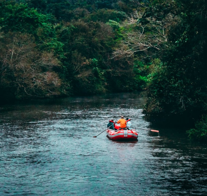 What To Do On Staycation - river riding