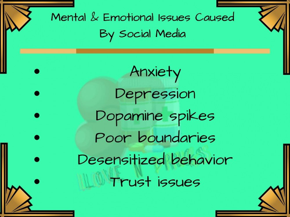 Issues Caused by Social Media