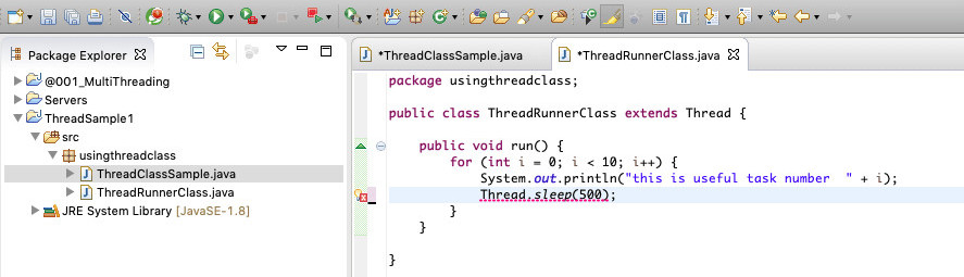 How to start a Java thread 14
