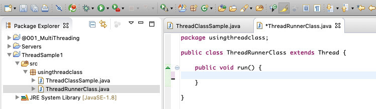 How to start a Java thread 12