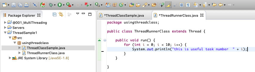How to start a Java thread 13