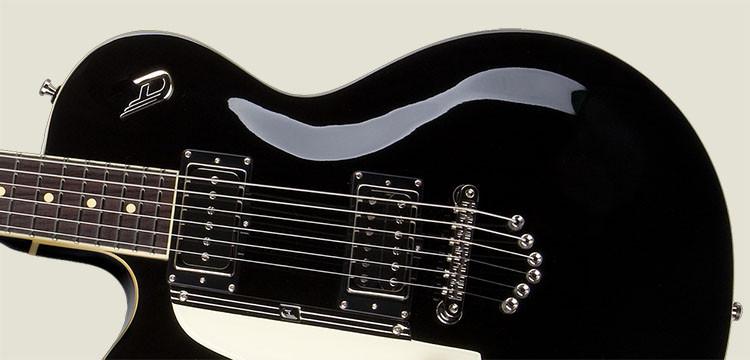 Left Handed Duesenberg Guitars - 49er in Black finish