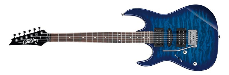Left handed Ibanez Guitars - GRX70QAL electric guitar