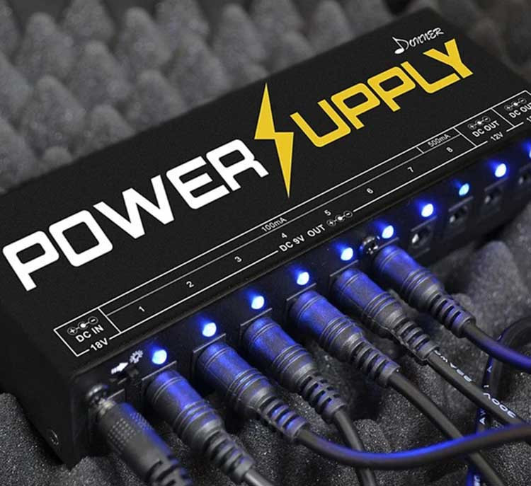 Best Gifts for Guitar - Donner DP-1 Power Supply