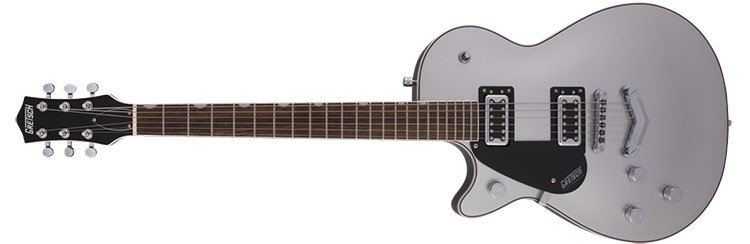 Left Handed Gretsch Guitars - G5230LH Electromatic Jet - Airline Silver