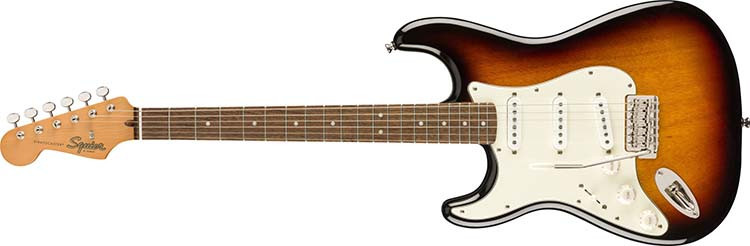 Left Handed Squier Guitars - Classic Vibe '60s Stratocaster