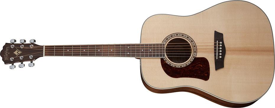 Left Handed Washburn Guitars - the D10S - Left handed