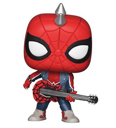 Funko Pop Guitar Figures - Spider Punk
