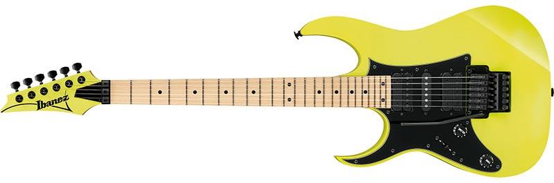 Left handed Ibanez RG550L electric guitar