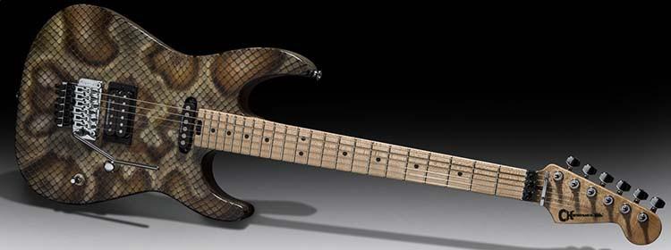 Warren DeMartini Signature Snake Guitar