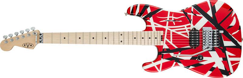 Left handed EVH Guitars - Striped Series LH