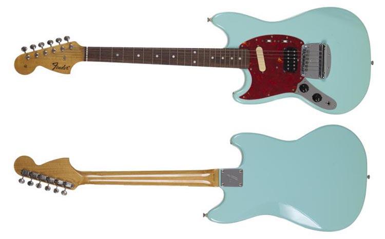 Kurt Cobain's Sky Blue 1993 Fender Mustang