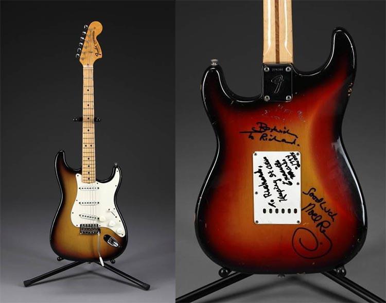 Jimi Handrix' 1970 Fender Stratocaster