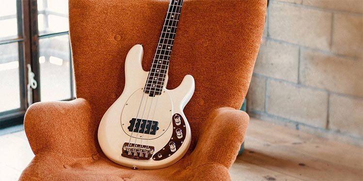 Left Handed Sterling Guitars and Basses - StingRay Short Scale