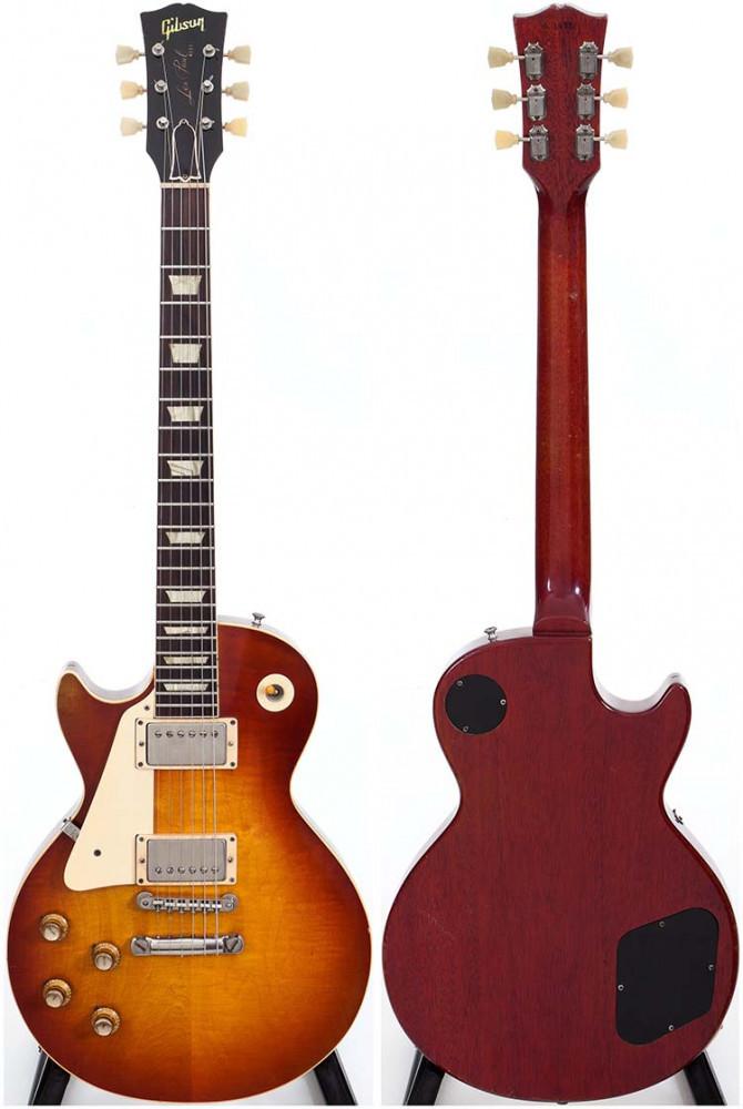Left Handed Sunburst 1960 Gibson Les Paul